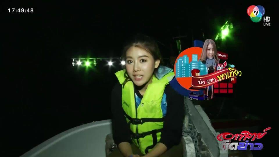 บัวบูชา พาเที่ยว : ตกหมึก กินบนเรือ จ.ชุมพร