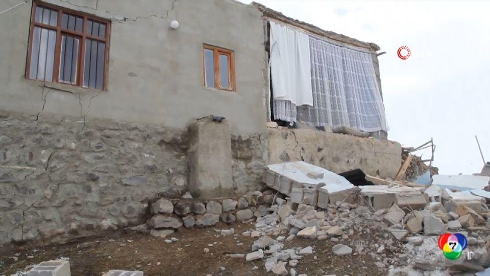 เกิดเหตุแผ่นดินไหวขนาดรุนแรง 5.7 ที่ตุรกี