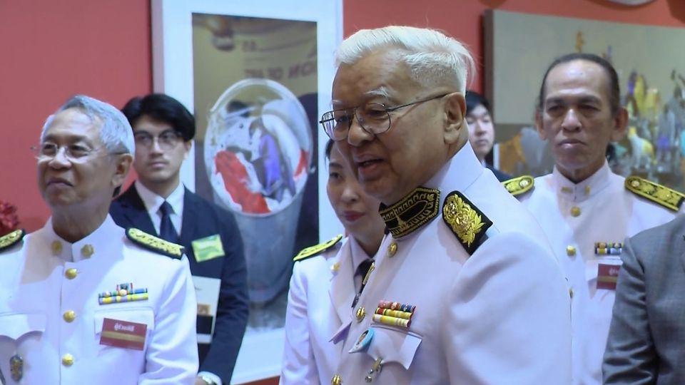 ผู้แทนพระองค์ ไปเปิดการแสดงศิลปกรรมแห่งชาติ ครั้งที่ 65 ประจำปี 2562