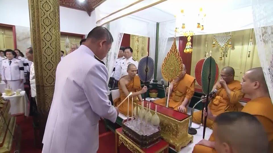 หน่วยราชการเป็นเจ้าภาพในการพระพิธีธรรมสวดพระอภิธรรมศพ พลเอก เปรม ติณสูลานนท์ ประธานองคมนตรีและรัฐบุรุษ