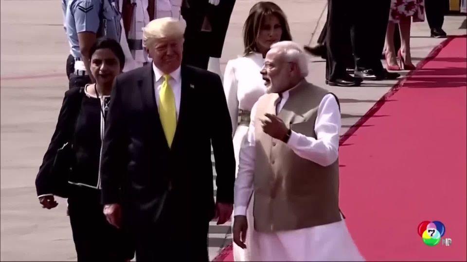 อินเดียทุ่มงบกว่าสิบล้านเหรียญ ต้อนรับผู้นำสหรัฐฯ