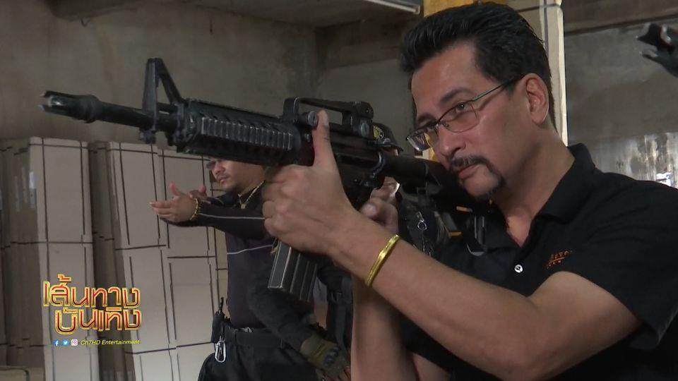 โอริเวอร์ สอน หน้ากากดำ จับปืน! | เฮฮาหลังจอ