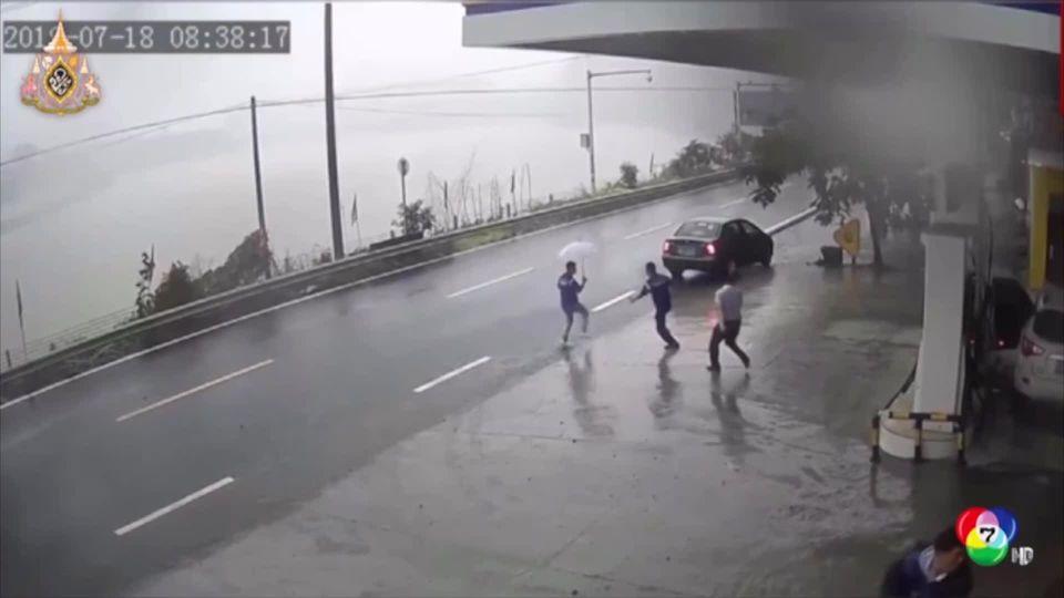 เหตุดินถล่มในจีน บ้านเรือน-รถยนต์ถูกทับพังเสียหาย เคราะห์ดีไม่มีผู้ได้รับบาดเจ็บ
