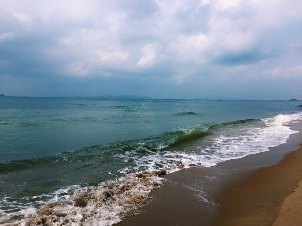 ทะเลสีคราม หาดแม่พิมพ์
