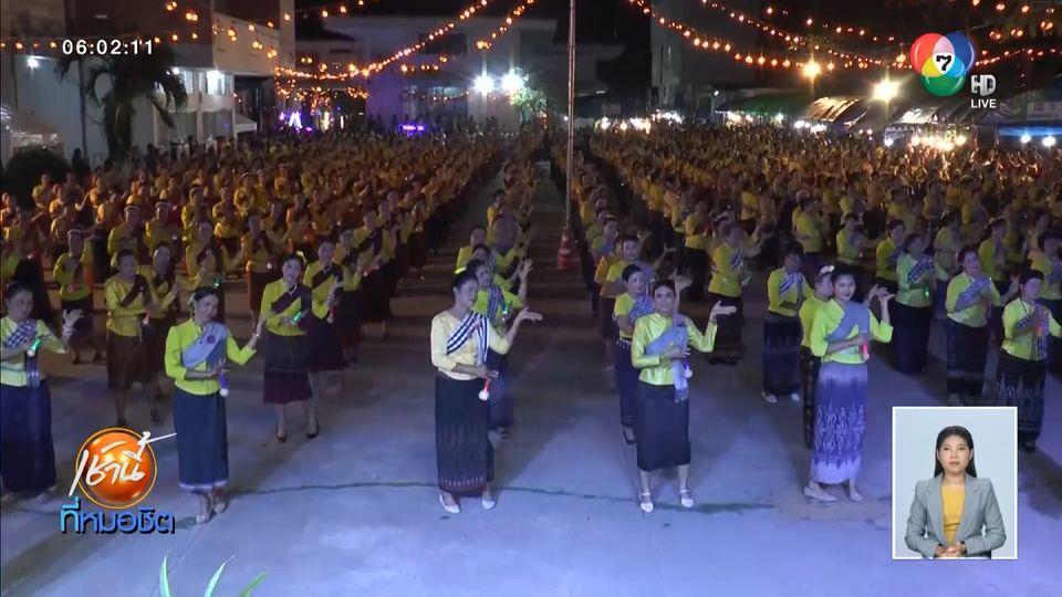 อลังการ ประเพณีจุดไฟตูมกา ออกพรรษายโสธร หนึ่งเดียวในไทย