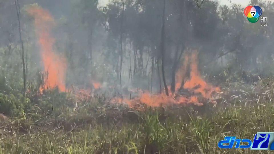 หมอกควันไฟป่าทำค่าฝุ่น PM2.5 พุ่งสูงแตะระดับสีแดง