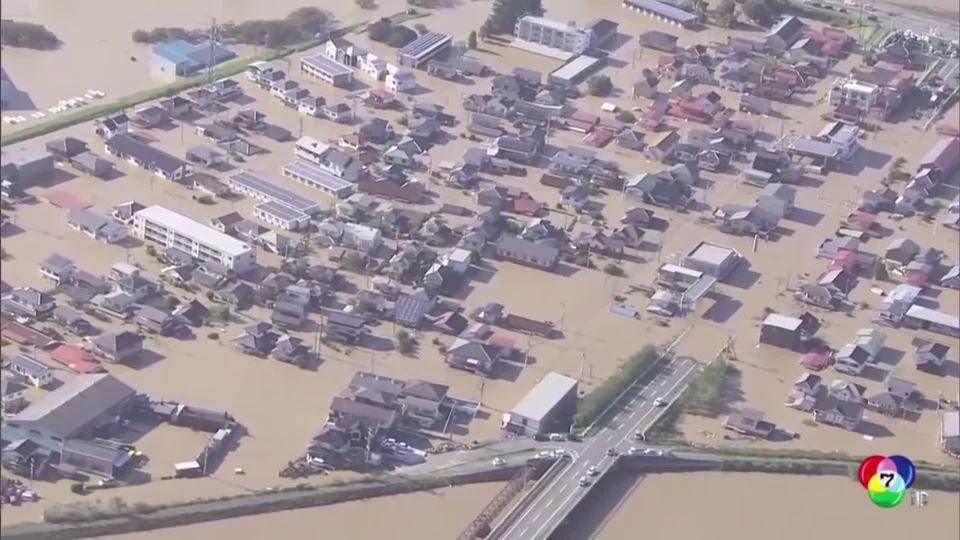 คืบหน้าสถานการณ์ฟื้นฟูพื้นที่ประสบภัยไต้ฝุ่นฮากีบิส
