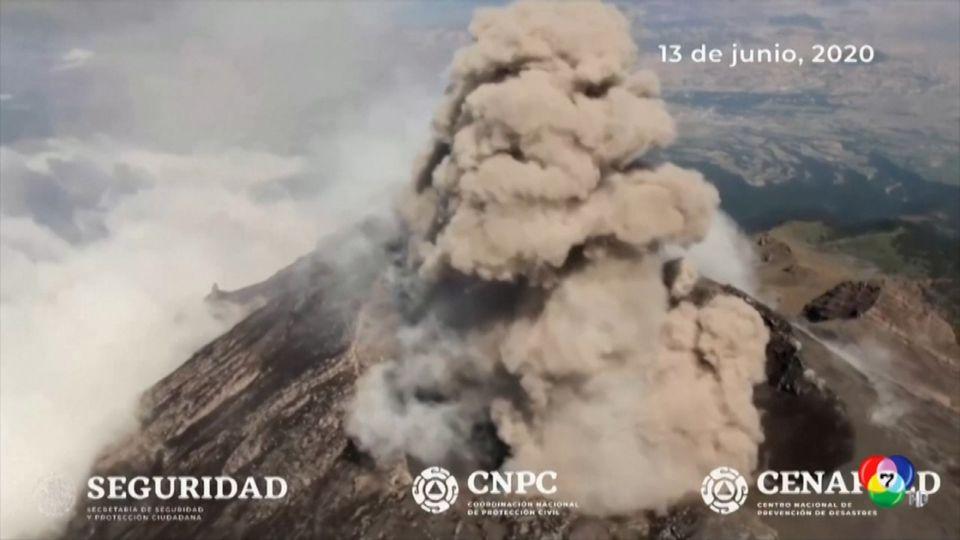 นักวิทยาศาสตร์เฝ้าจับตาดูภูเขาไฟปะทุในเม็กซิโก