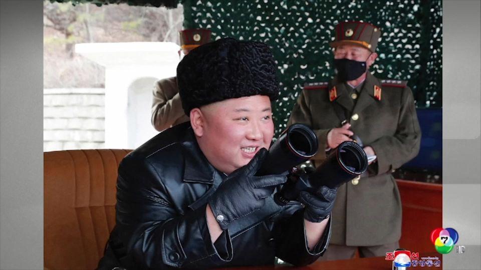 เกาหลีเหนือทดสอบยิงขีปนาวุธตกในทะเลญี่ปุ่น