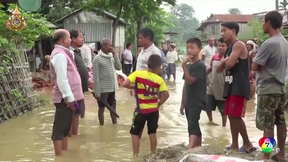 น้ำท่วม-ดินถล่มในเนปาล บังกลาเทศ และอินเดีย