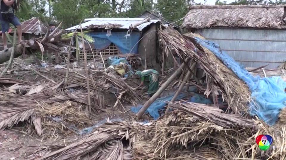 บังกลาเทศอพยพคนหนีไซโคลนบุลบุล เสียชีวิตแล้ว 14 คน