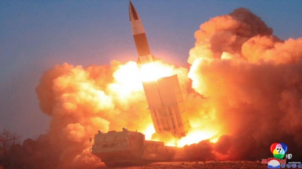 เกาหลีเหนือ ทดสอบยิงขีปนาวุธพิสัยใกล้ 2 ลูก