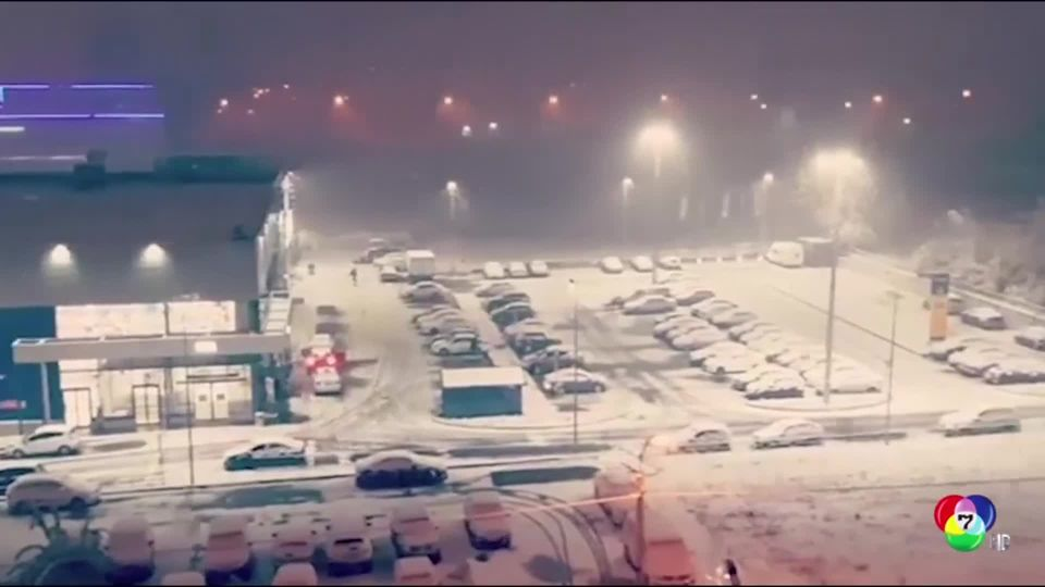 หิมะแรกในรัสเซียปีนี้ตกเร็วกว่าปกติ
