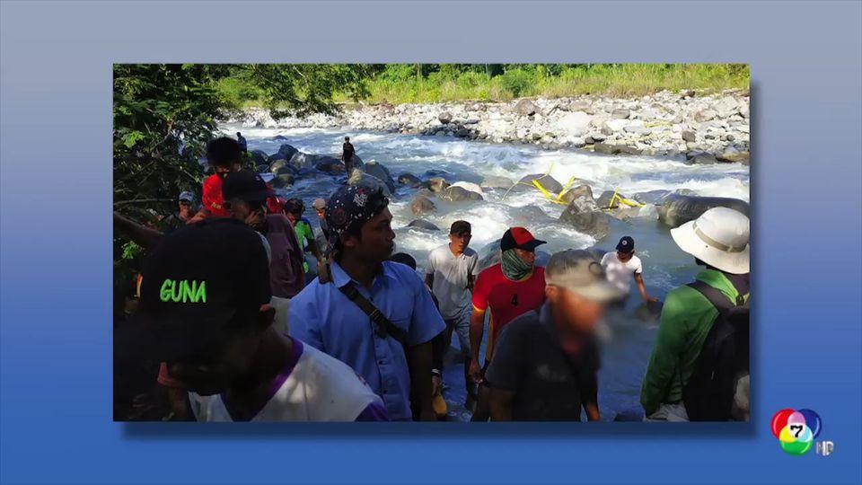 สะพานถล่มลงแม่น้ำในอินโดนีเซีย พบมีผู้เสียชีวิตแล้วกว่า 9 คน
