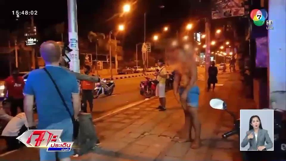 ชายเมาขาดสติ! ซิ่งกระบะชนยับ โวยวายทำร้ายพลเมืองดี-ท้าต่อยตำรวจ