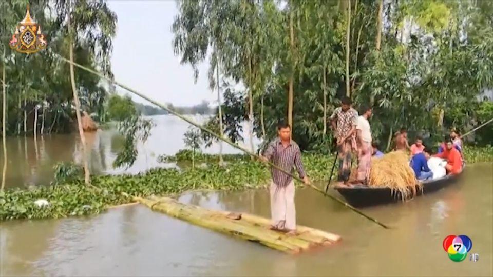 สถานการณ์น้ำท่วมเอเชียใต้ยังวิกฤต มีผู้เสียชีวิตรวมแล้ว 180 คน
