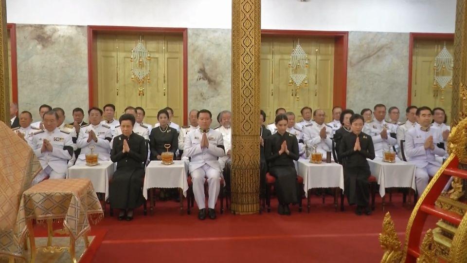 เอกชนเป็นเจ้าภาพในการพระพิธีธรรมสวดพระอภิธรรมศพ พลเอก เปรม ติณสูลานนท์ ประธานองคมนตรีและรัฐบุรุษ