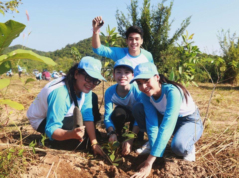 ช่อง 7HD ผนึกกำลัง กรมป่าไม้ นำทีมพลิกฟื้นผืนป่าสงวนแห่งชาติกว่า 60 ไร่