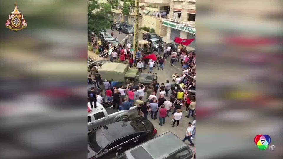 เหตุกราดยิงขบวนรถรัฐมนตรีกิจการผู้ลี้ภัย ในเลบานอน