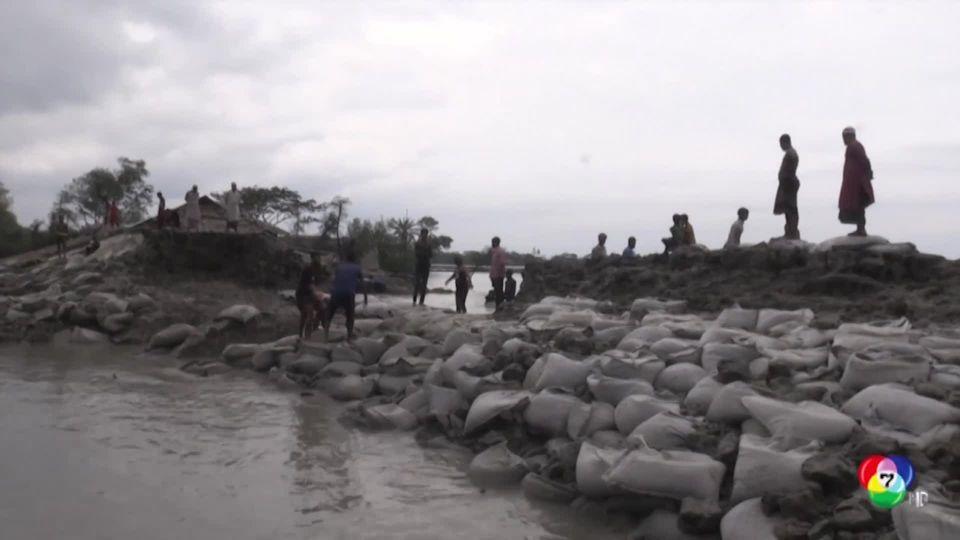 ยอดผู้เสียชีวิตจากพายุไซโคลนอำพัน เฉียด 100 คน