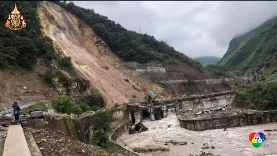 เกิดเหตุดินถล่มในมณฑลเสฉวน ของจีน