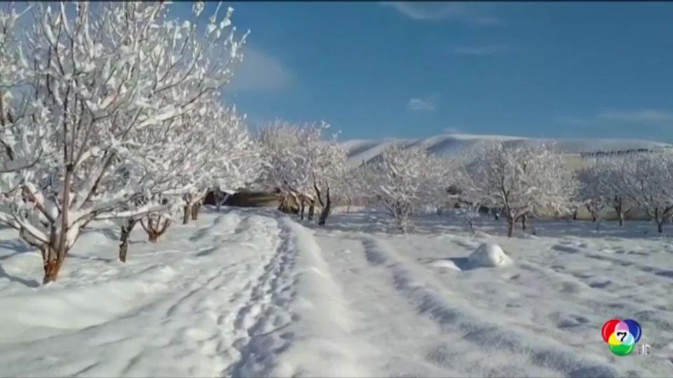 หิมะถล่มที่แคชเมียร์ เสียชีวิตแล้วกว่า 100 คน