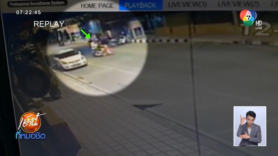วัยรุ่นอ่างทองดุ ไล่ตะลุมบอนริมถนน ถูกแทงเจ็บ 1 คน ปมเบิ้ลเครื่อง จยย.ใส่