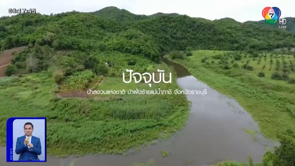 7 สีปันรักให้โลก ส่งมอบผืนป่า 60 ไร่ ป่าสงวนแห่งชาติ ป่าฝั่งซ้ายแม่น้ำภาชี