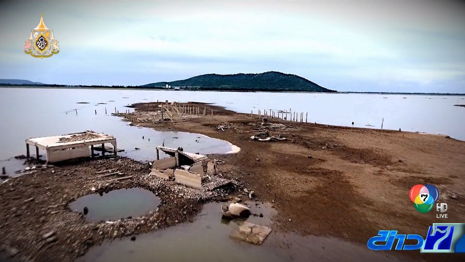 รายงานพิเศษ : ลุ่มแม่น้ำป่าสักวิกฤต วัดเก่าโผล่ จ.ลพบุรี