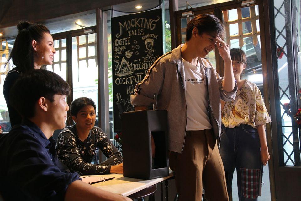 """4 นักแสดงซิทคอม """"คลื่นผีป่วน"""" """"บอส – แก้วใส – อ้น – พลอย"""" ยกแก๊งป่วน รายการ """"สปอตไลท์ ออนทีวี"""" (SPOTLIGHT On TV) พุธที่ 13 มิ.ย. นี้"""