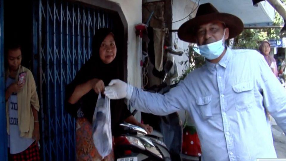 นักธุรกิจหาดใหญ่ แจกปลากะพง 14,000 กก. ให้ประชาชนถึงหน้าบ้าน