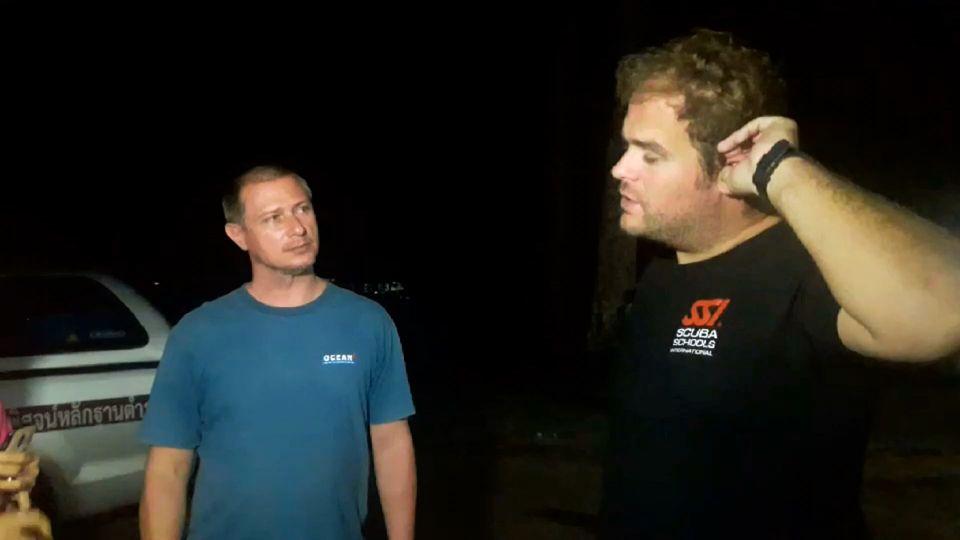 ฝรั่งนักดำน้ำทีมช่วย 13 หมูป่า เสียท่าโจรเมืองคอน