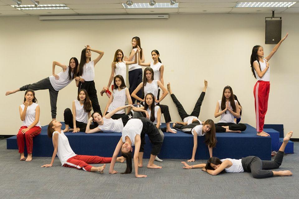 20 สาวไทยซูเปอร์โมเดลคอนเทสต์ 2019 ฟิตพร้อมก่อนถึงรอบตัดสิน 29 มีนาคมนี้