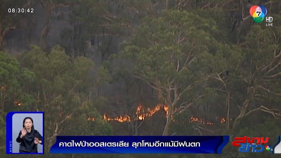 ภาพเป็นข่าว : คาดไฟป่าออสเตรเลีย ลุกโหมอีกแม้มีฝนตก