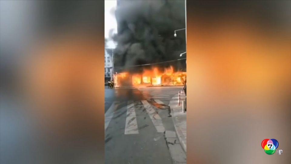 เกิดเหตุเพลิงไหม้อาคารที่พักอาศัยในจีน มีผู้เสียชีวิต 5 คน