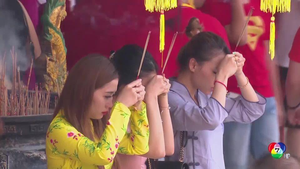 บรรยากาศฉลองเทศกาลตรุษจีน ในหลายประเทศ