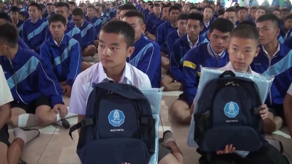 พลเรือเอก พงษ์เทพ หนูเทพ องคมนตรี ไปตรวจเยี่ยมโรงเรียนราชประชานุเคราะห์ ในพื้นที่ภาคเหนือ