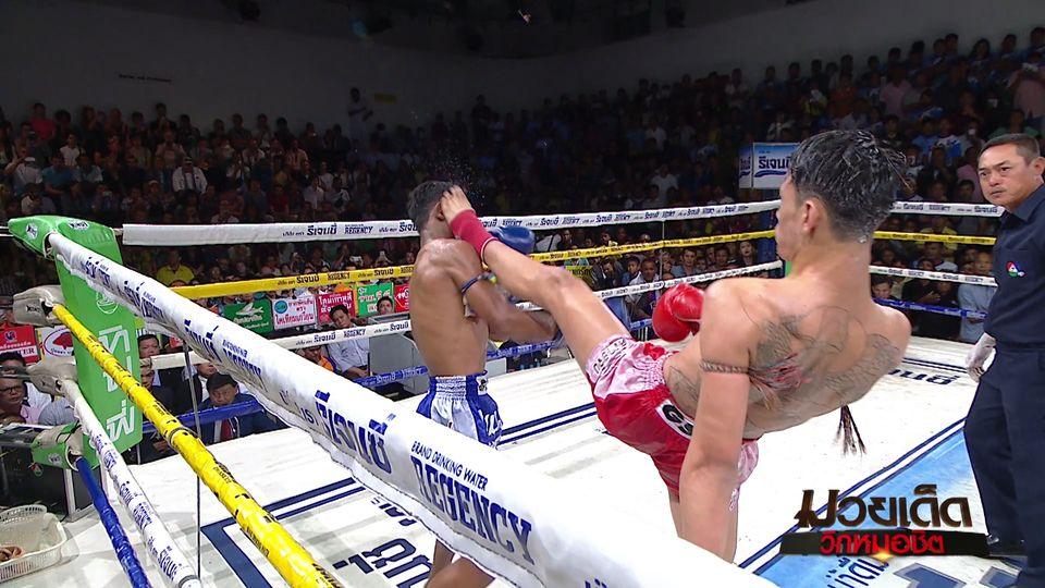 มวยเด็ด วิกหมอชิต : ผลมวยไทย 7 สี 17 พ.ย.62 กำชัย ภ.หลักบุญ vs ณรงค์ชัย ศิษย์จอมยุทธ