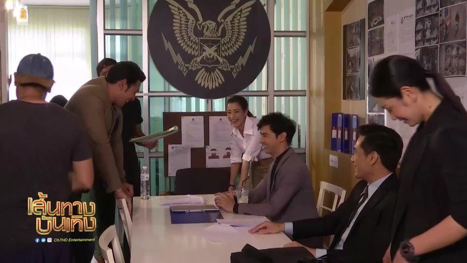 เบื้องหลังฉาก อานัส - แจมมี่ สอบสวน ออย ธนา ในละคร รอยอาฆาต