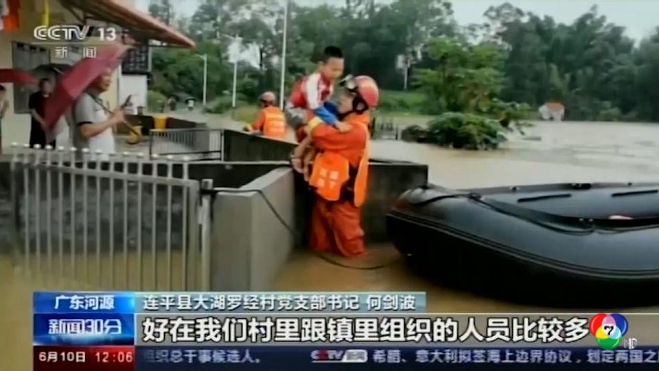 จีนเตือนประชาชนอาจเผชิญน้ำท่วมหนักเดือนหน้า