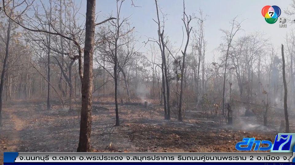 ไฟป่าภาคเหนือทำหมอกควันค่าฝุ่น PM2.5 เกินมาตรฐาน 8 จังหวัด