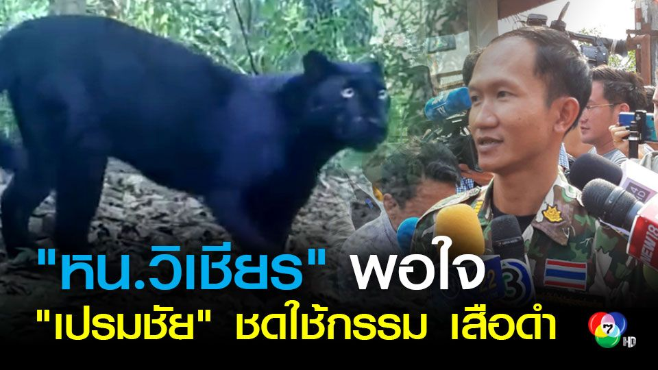 หัวหน้าวิเชียร พอใจศาลสั่งจำคุก เปรมชัย ยืนยันไม่หยุดพิทักษ์สัตว์ป่า