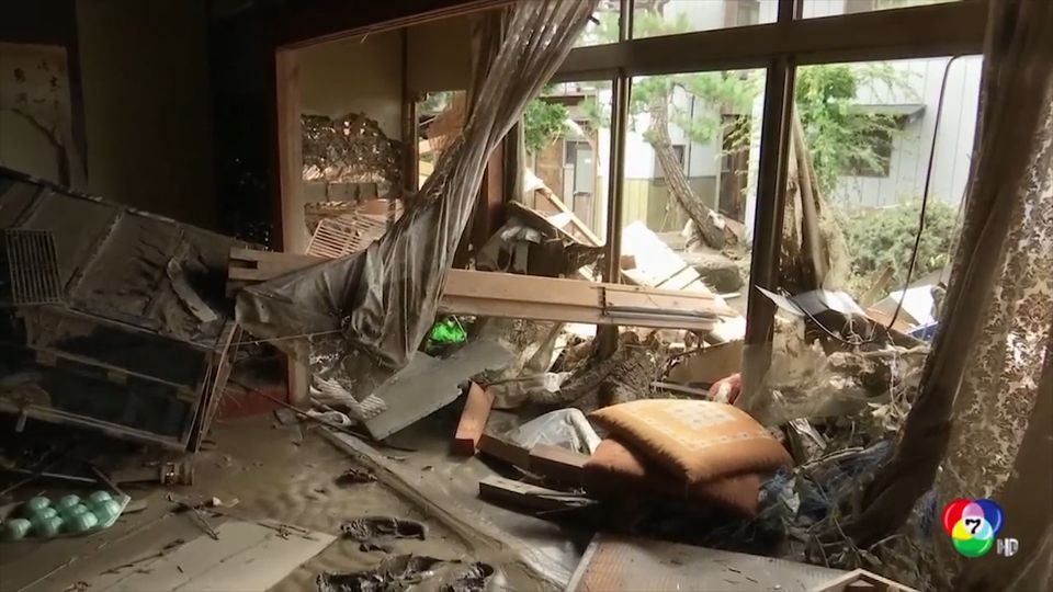 ยอดผู้เสียชีวิตพายุไต้ฝุ่นฮากีบิส เพิ่มขึ้นเป็นกว่า 70 คน