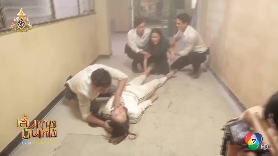 ย้อนเหตุการณ์ปิ๊งรักของ เอส กันตพงศ์ - ฮาน่า ลีวิส กับเหตุการณ์เสี่ยงตายตั้งแต่เริ่ม ใน กุหลาบเกราะเพชร