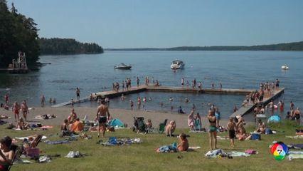 คลื่นความร้อนแผ่ปกคลุมสเปน-สวีเดน อุณหภูมิพุ่งสูงเกิน 40 องศาฯ