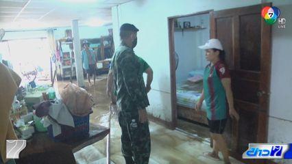 น้ำป่าไหลหลากท่วมภาคเหนือ เจ้าหน้าที่เร่งช่วยเหลือชาวบ้านทำความสะอาด