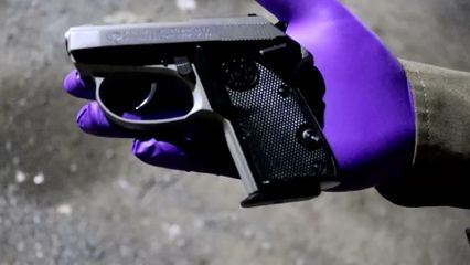 สารวัตรกำนันปืนดุยิงลูกเลี้ยงคลั่งยาดับคาบ้าน