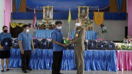 องคมนตรี ไปตรวจเยี่ยมครูและนักเรียนโรงเรียนราชประชานุเคราะห์ 33 จังหวัดลพบุรี