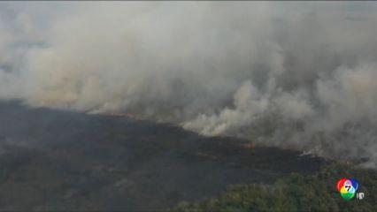 บราซิล เร่งดับไฟป่าครั้งใหญ่ที่สุดในรอบ 21 ปี ในเขตแพนทานัล