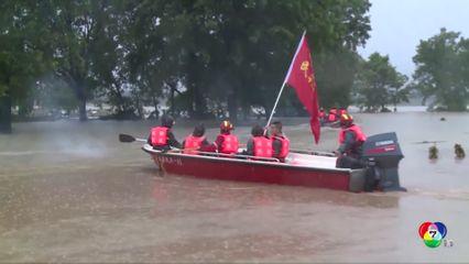 น้ำท่วมหนักในจีน ทำประชาชนกว่า 60 ล้านคน ได้รับความเดือดร้อน